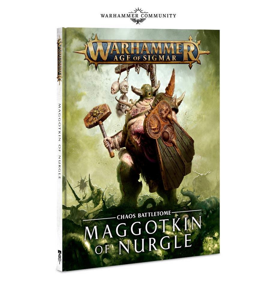 Age of Sigmar Battletome Maggotkin of Nurgle (HB) (EN)
