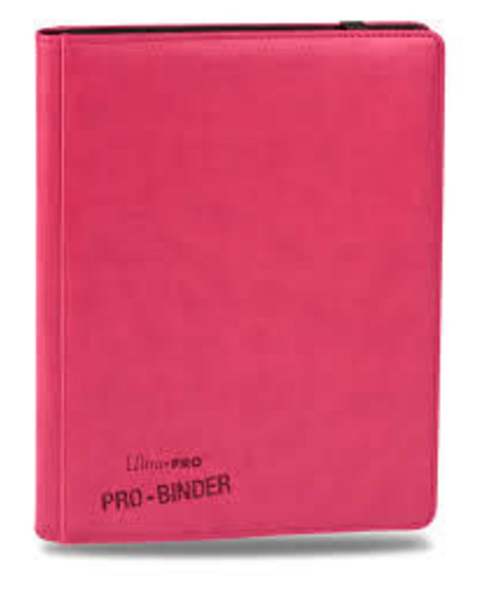 Ultra Pro UP BINDER PRO 9PKT PREMIUM PINK