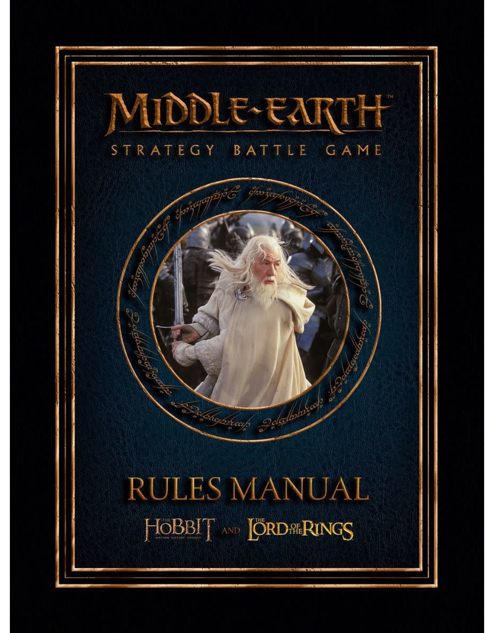 Lord of the Ring Middle Earth Strategy Battle Game Rules Manual (EN)
