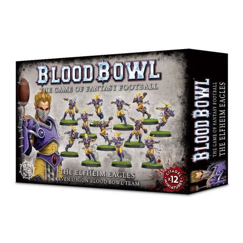 Blood Bowl - Elven Union Team - The Elfheim Eagles