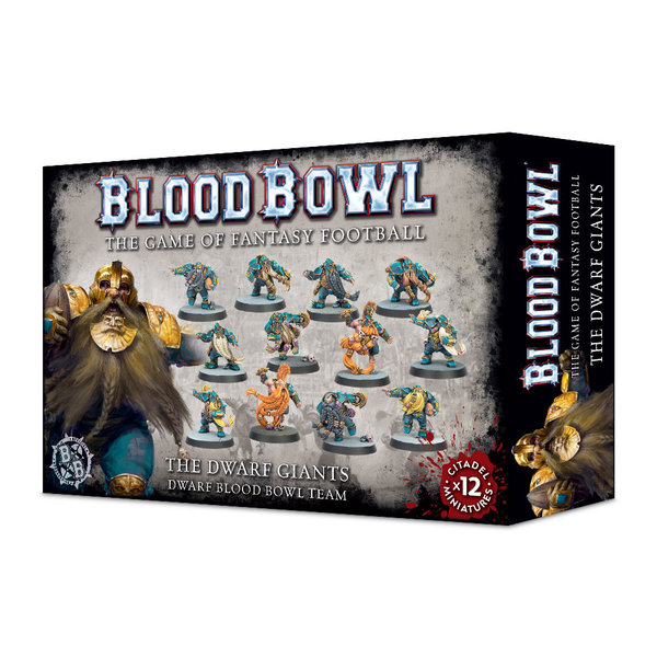 Blood Bowl Blood Bowl - The Dwarf Giants