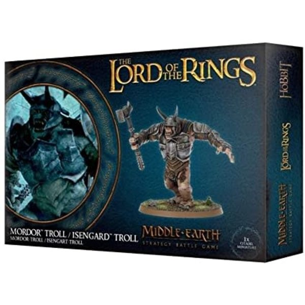 Lord of the Ring Mordor Troll / Isengard Troll