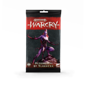 Warcry Warcry: Hedonites of Slaanesh Cards