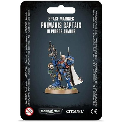 Space Marines Primaris Captain in Phobos Armour