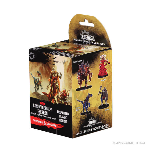WIZKIDS DND ICONS 14: EBERRON RISING FROM LAST WAR BOOSTER