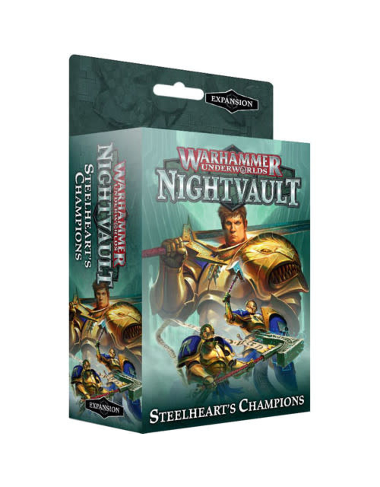 Warhammer Underworlds WARHAMMER UNDERWORLDS: STEELHEART'S CHAMPIONS (ENG)