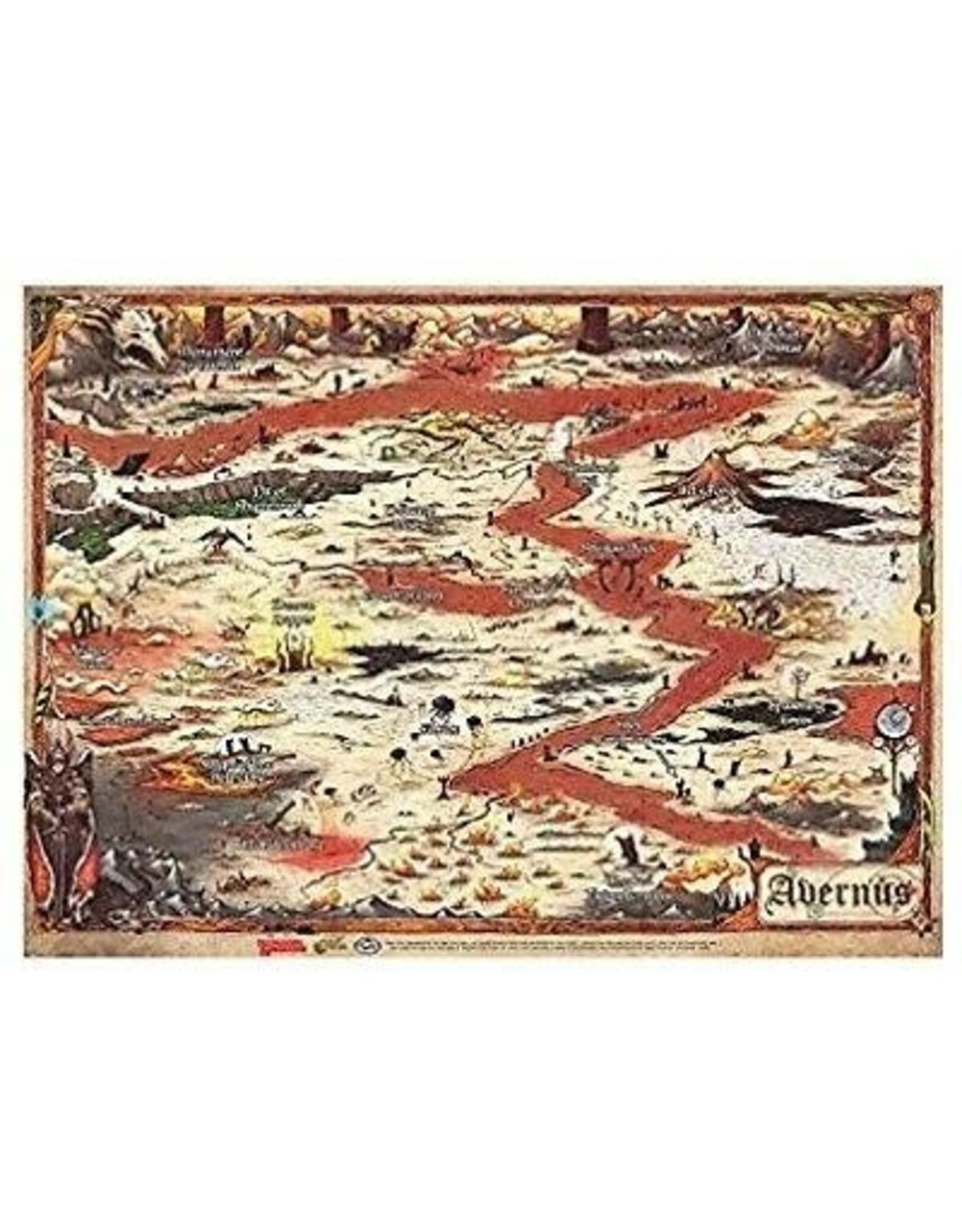 Wizards of the Coast DND MAP SET BALDUR'S GATE - AVERNUS