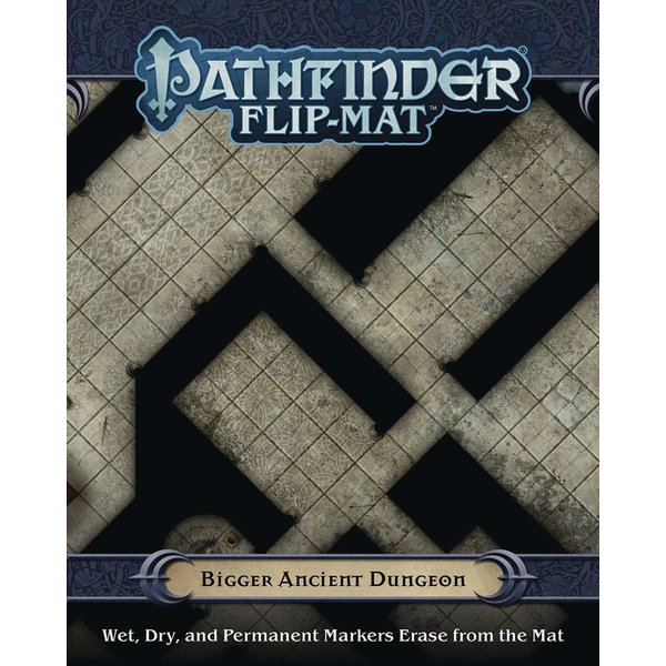 Paizo PF FLIP-MAT: BIGGER ANCIENT DUNGEON