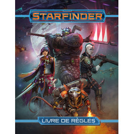 Paizo FR - STARFINDER - LIVRE DE RÈGLES