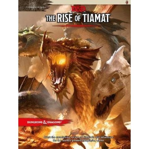 DND RPG THE RISE OF TIAMAT
