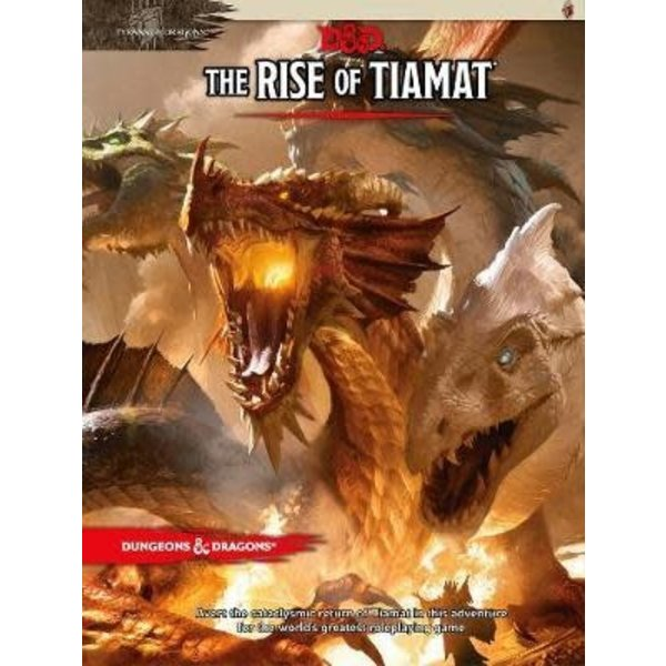 Wizards of the Coast DND RPG THE RISE OF TIAMAT