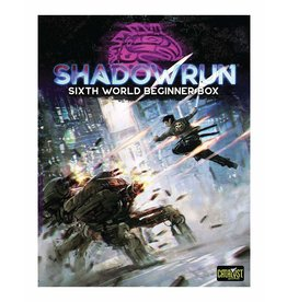 Catalyst Game Labs SHADOWRUN - SIXTH WORLD BEGINNER BOX