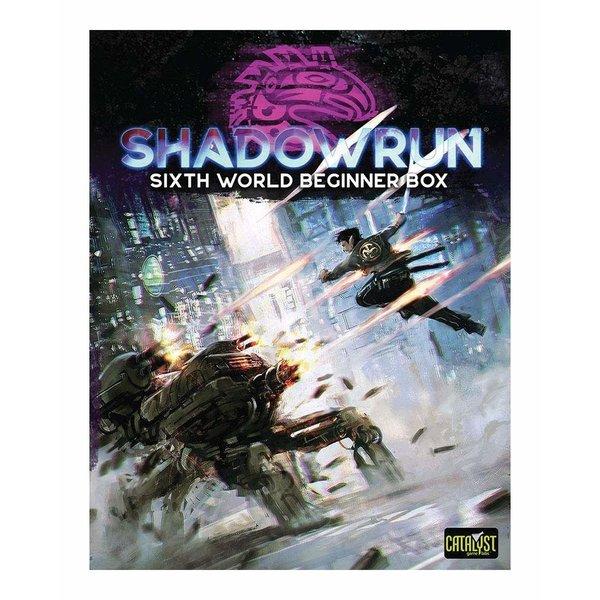 Catalyst Game Labs SHADOWRUN - SIXTH WORLD BEGINNER BOX