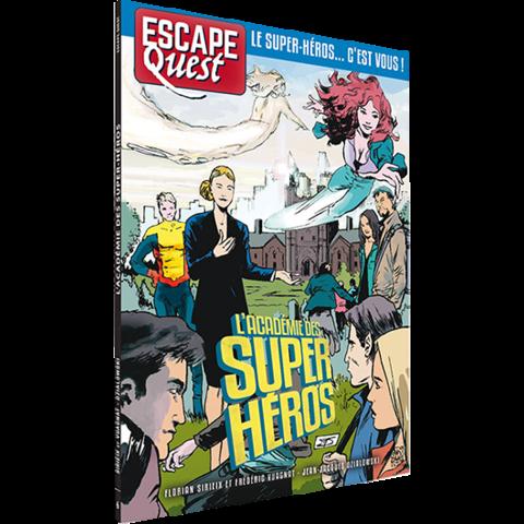 Escape Quest: L'Académie des Super Héros