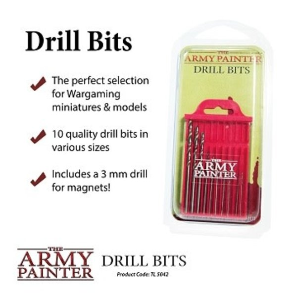 Army Painter MINIATURE & MODEL TOOLS: DRILL BITS