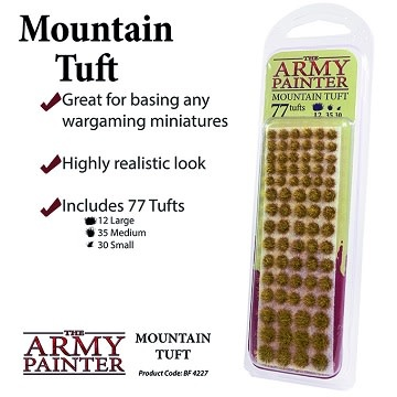 Army Painter BATTLEFIELDS XP: MOUNTAIN TUFT
