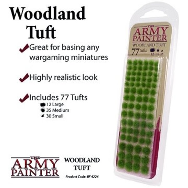 Army Painter BATTLEFIELDS XP: WOODLAND TUFT