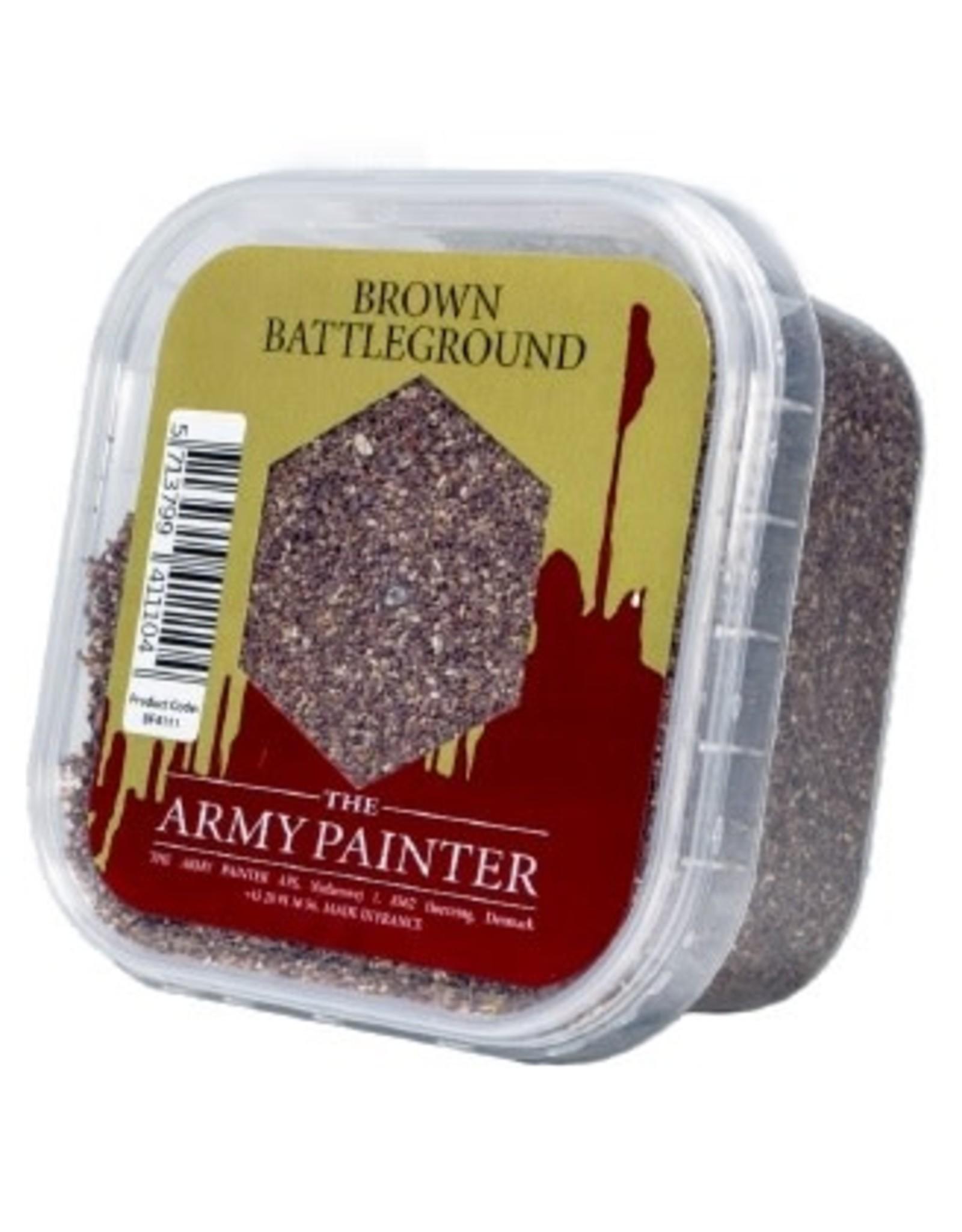 Army Painter BATTLEFIELDS: BROWN BATTLEGROUND SAND (150ML)