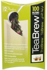Les Thés Fuji TeaBrew Filtres (100)
