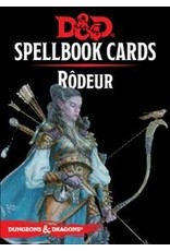 Wizards of the Coast FR - D&D - SPELLBOOK CARDS: RÔDEUR
