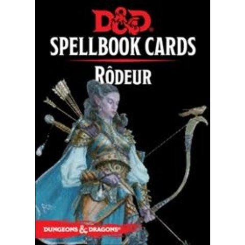FR - D&D - SPELLBOOK CARDS: RÔDEUR