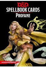 Wizards of the Coast FR - D&D - SPELLBOOK CARDS: PROFANE