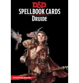 Wizards of the Coast FR - D&D - SPELLBOOK CARDS: DRUIDE