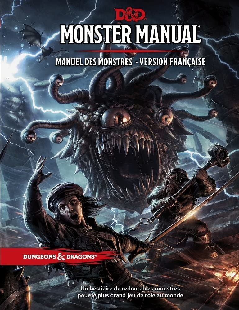 Wizards of the Coast FR - D&D - MANUEL DES MONSTRES