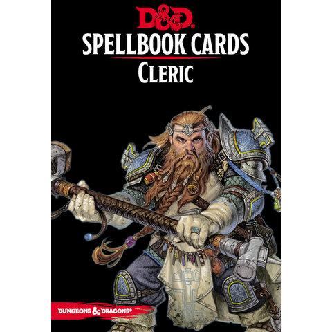 FR - D&D - SPELLBOOK CARDS: CLERC