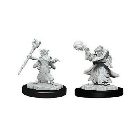 DND UNPAINTED MINIS: MALE GNOME WIZARD