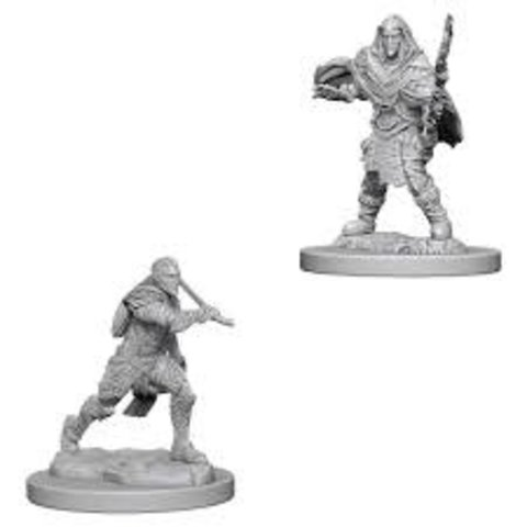DND UNPAINTED MINIS: MALE ELF FIGHTER