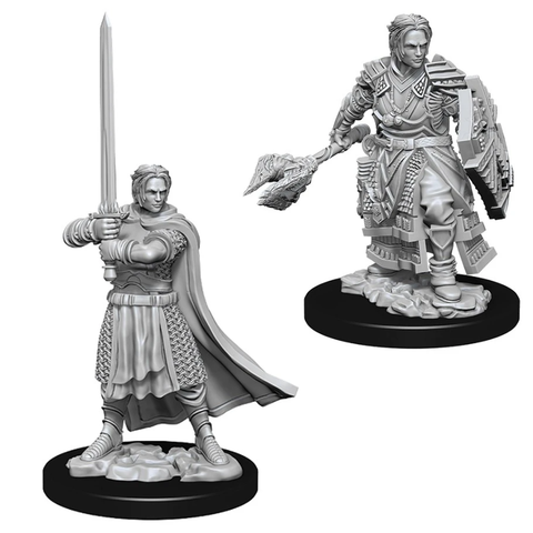DND UNPAINTED MINIS: MALE HUMAN CLERIC