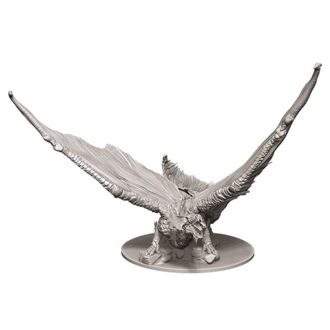 DND UNPAINTED MINIS: YOUNG BRASS DRAGON