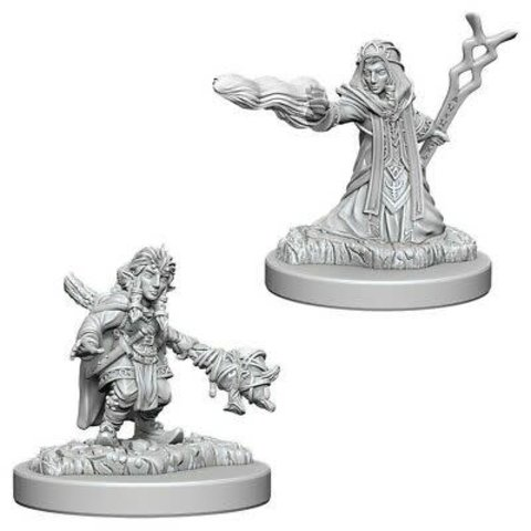 DND UNPAINTED MINIS: FEMALE GNOME WIZARD