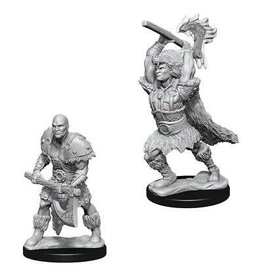 WIZKIDS DND UNPAINTED MINIS: MALE GOLIATH BARBARIAN