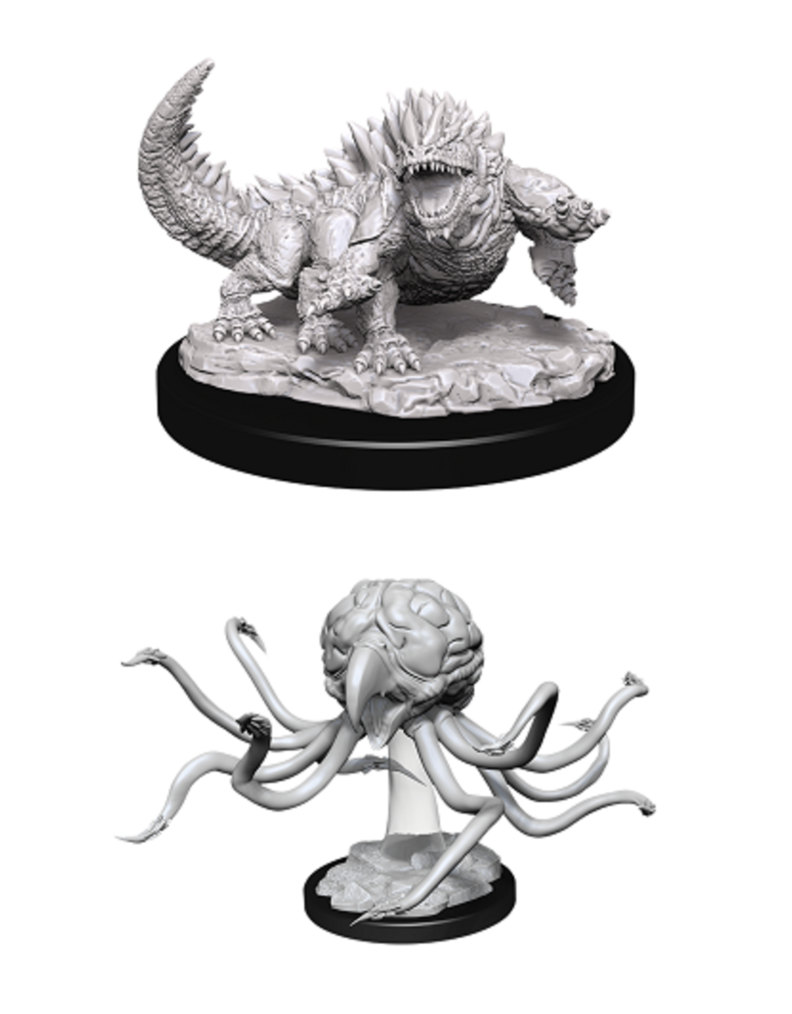 WIZKIDS DND UNPAINTED MINIS: GRELL AND BASILISK
