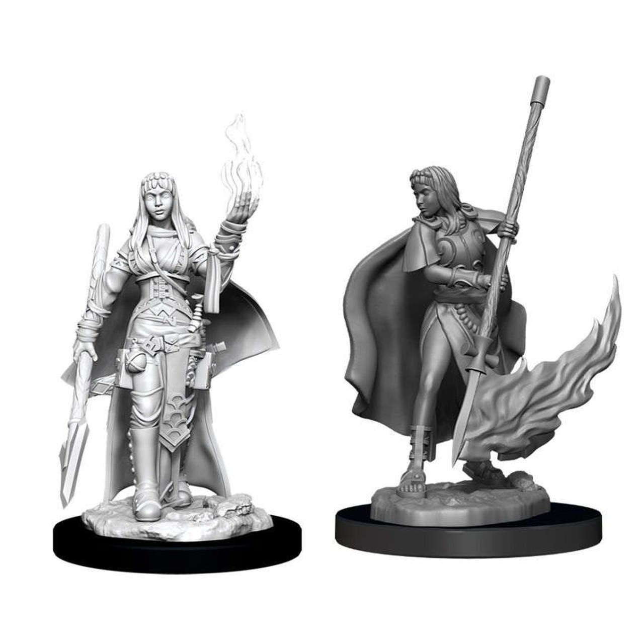 WIZKIDS PF UNPAINTED MINIS: FEMALE HUMAN ORACLE