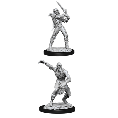 DND UNPAINTED MINIS: WIGHT AND GHAST