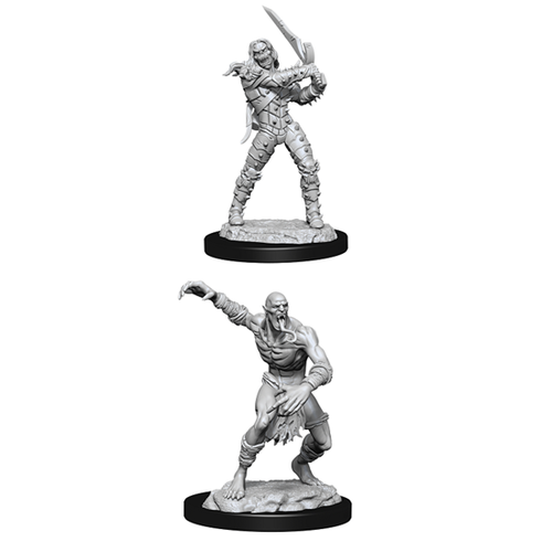 WIZKIDS DND UNPAINTED MINIS: WIGHT AND GHAST
