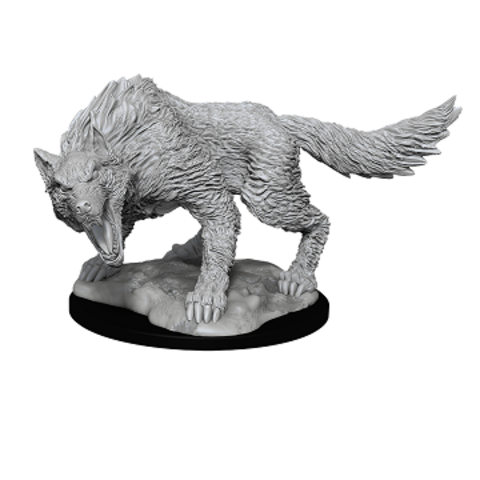 DND UNPAINTED MINIS: WINTER WOLF