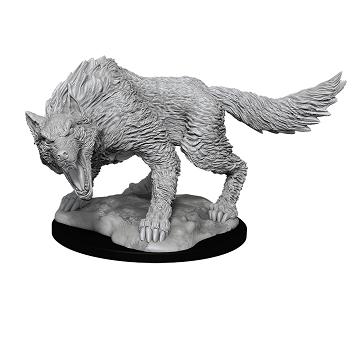 WIZKIDS DND UNPAINTED MINIS: WINTER WOLF