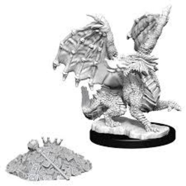 WIZKIDS DND UNPAINTED MINIS: RED DRAGON WYRMLING
