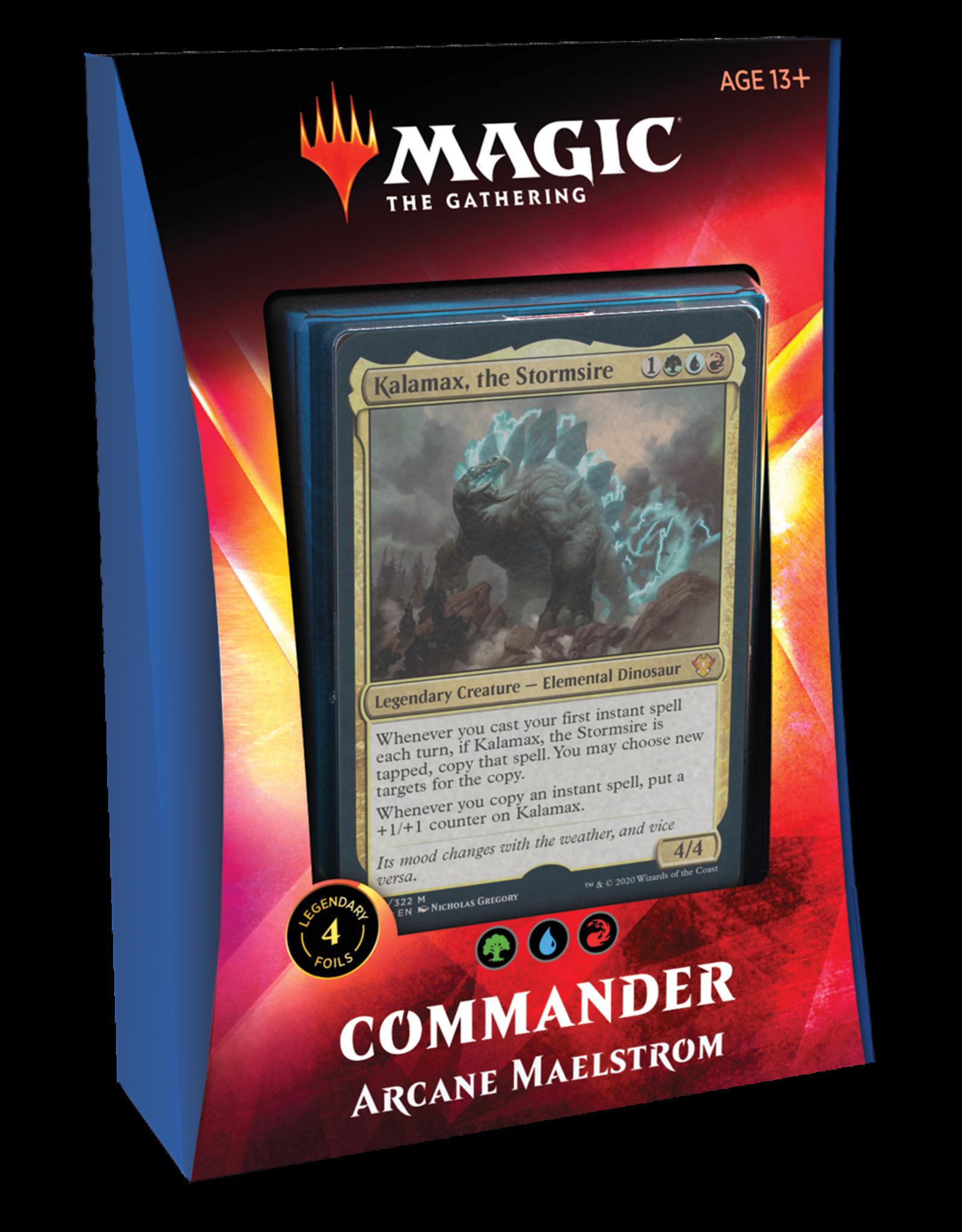 Wizards of the Coast MTG IKORIA COMMANDER 2020 - Arcane Maelstrom