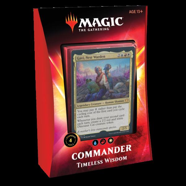 Wizards of the Coast MTG IKORIA COMMANDER 2020 - Timeless Wisdom