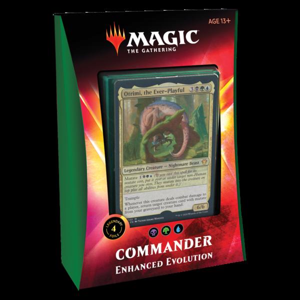 Wizards of the Coast MTG IKORIA COMMANDER 2020 - Enhanced Evolution