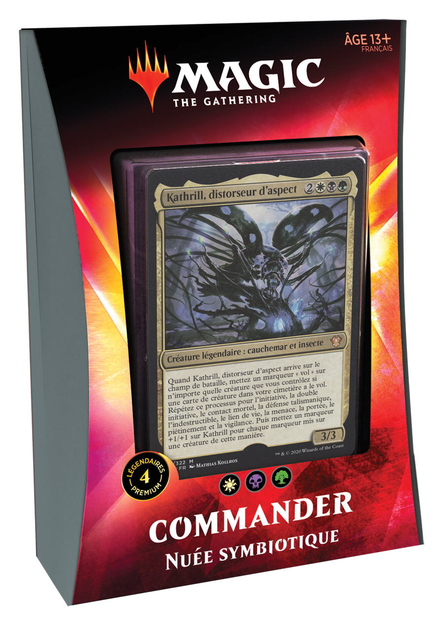 Wizards of the Coast MTG IKORIA COMMANDER FR - Nuée Symbiotique