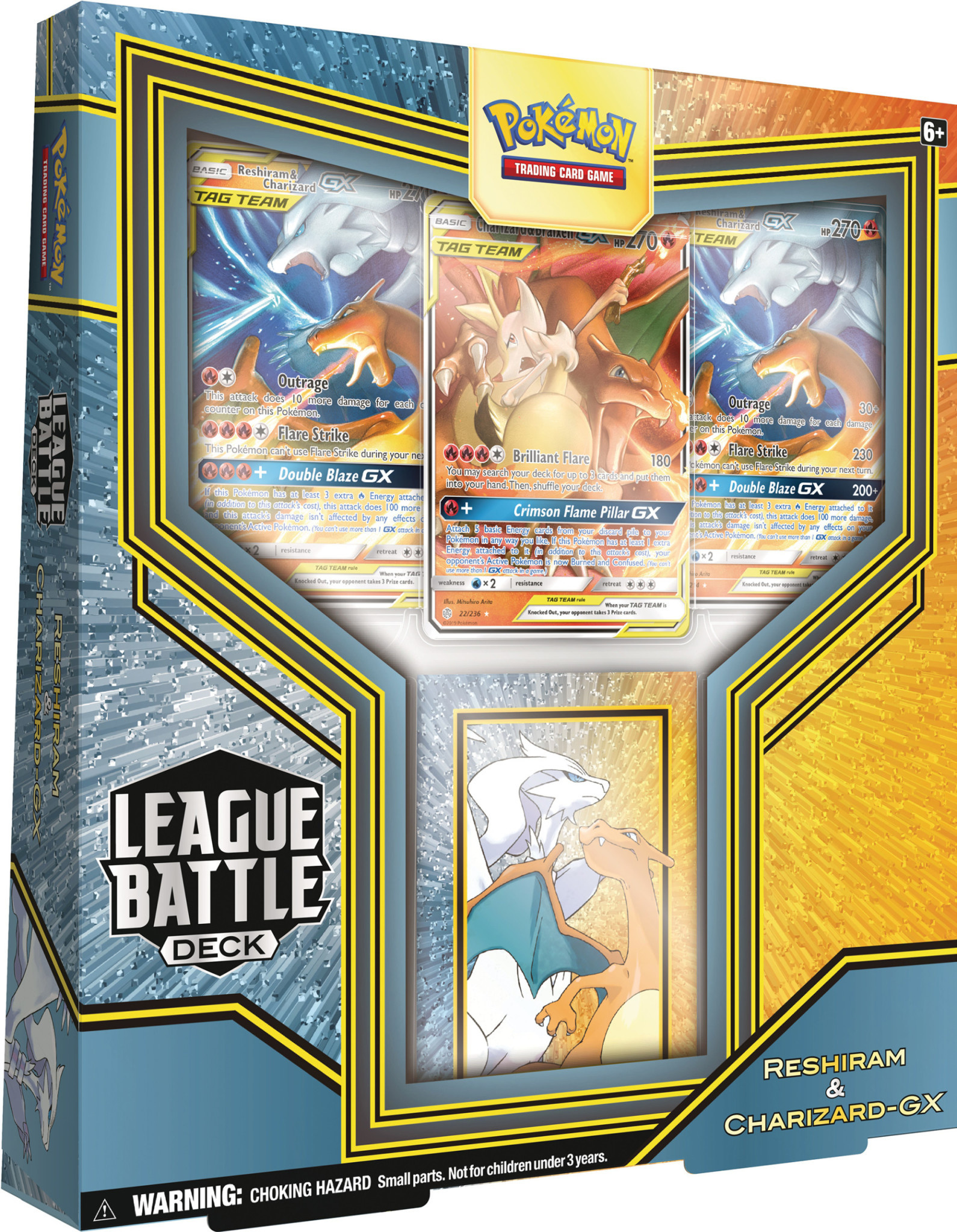 POKEMON POKEMON LEAGUE BATTLE DECK - Reshiram & Charizard-GX