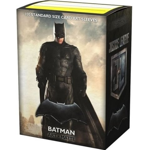 DRAGON SHIELD SLEEVES MATTE JUSTICE LEAGUE BATMAN 100CT
