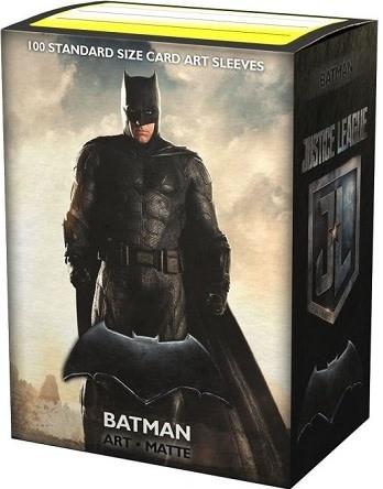 Arcane Tinmen DRAGON SHIELD SLEEVES MATTE JUSTICE LEAGUE BATMAN 100CT