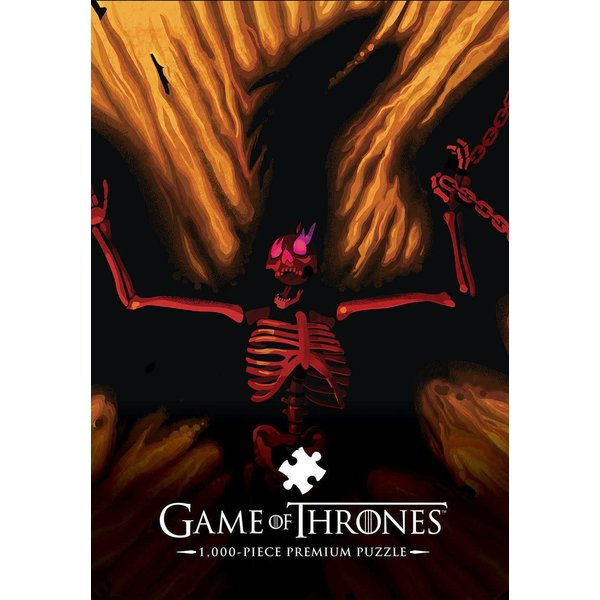 Usaopoly Puzzle: 1000 Game of Thrones Dracarys